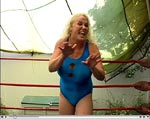Nude & Topless Female Wrestling video clip