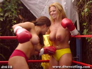 Simply matchless naked female boxing was