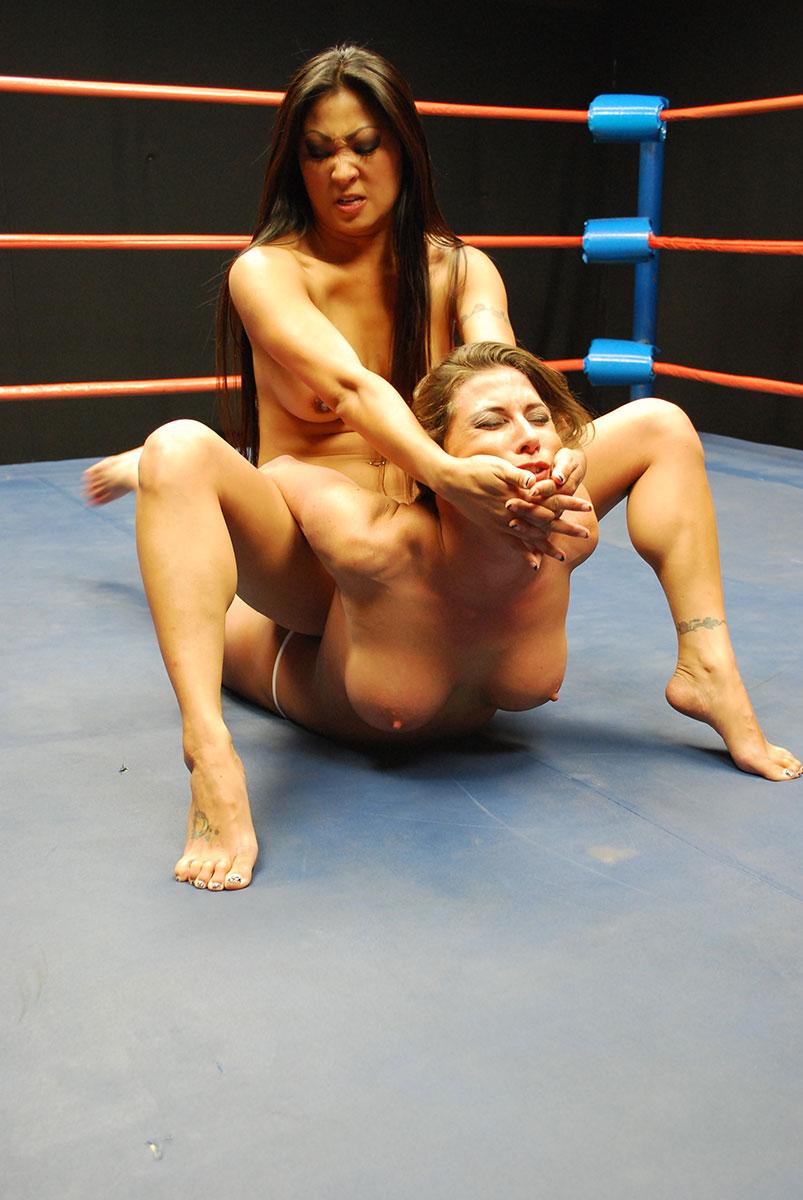 Ariel x nude wrestling