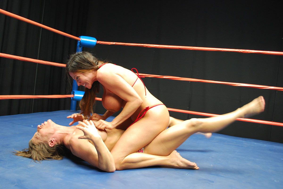Dt Match Topless Catfight Featuring Ariel Ariella