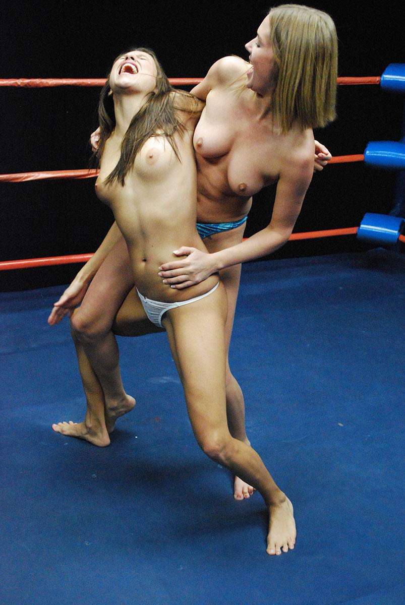 Nackt Wrestling
