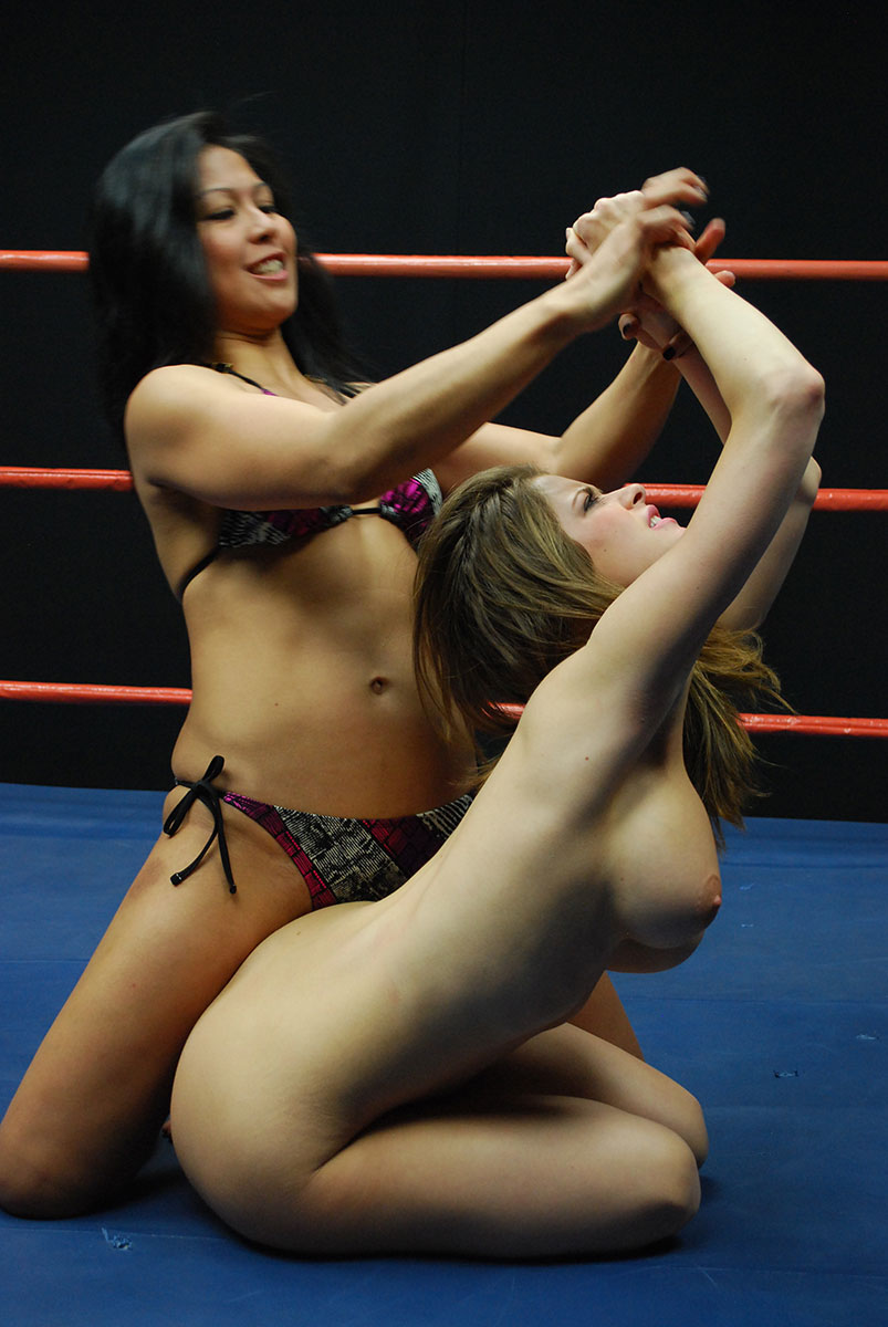 Female Wrestling - Catfights - Topless Boxing - Nude Wrestling-4154