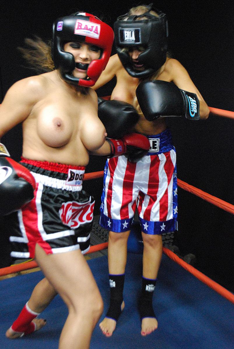 Sexy boxer girl nude