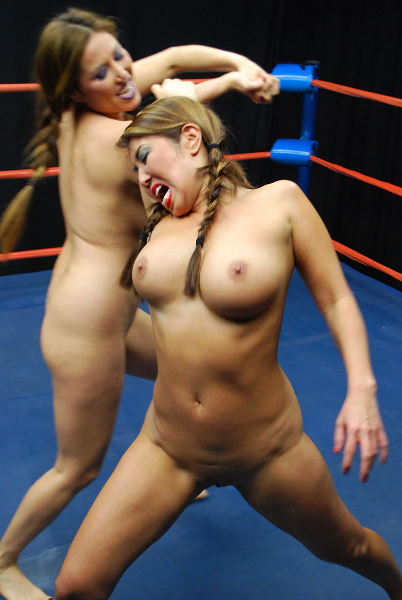 Naked female naked wrestlers busty