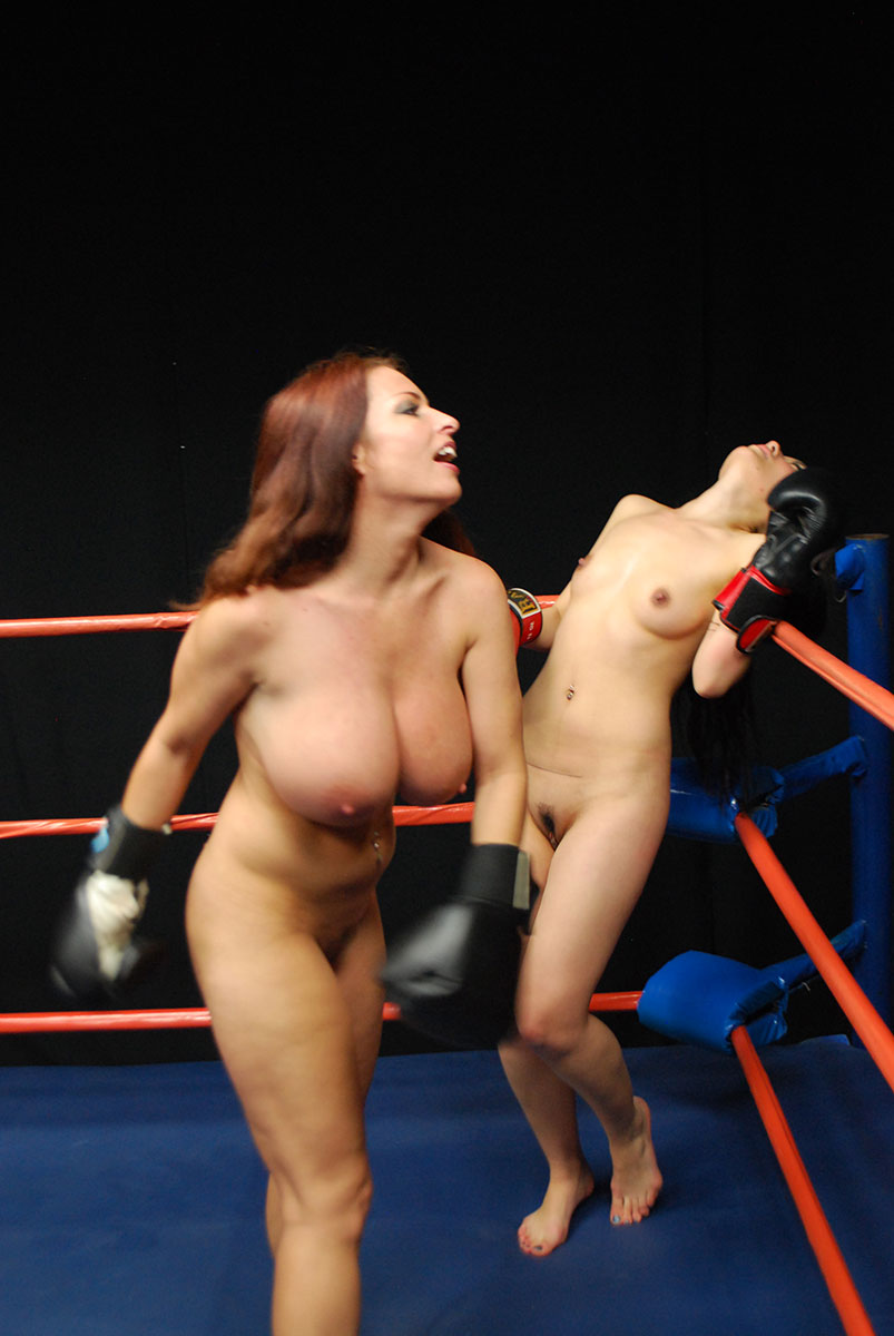 Was specially Nude girls women boxing topless will not