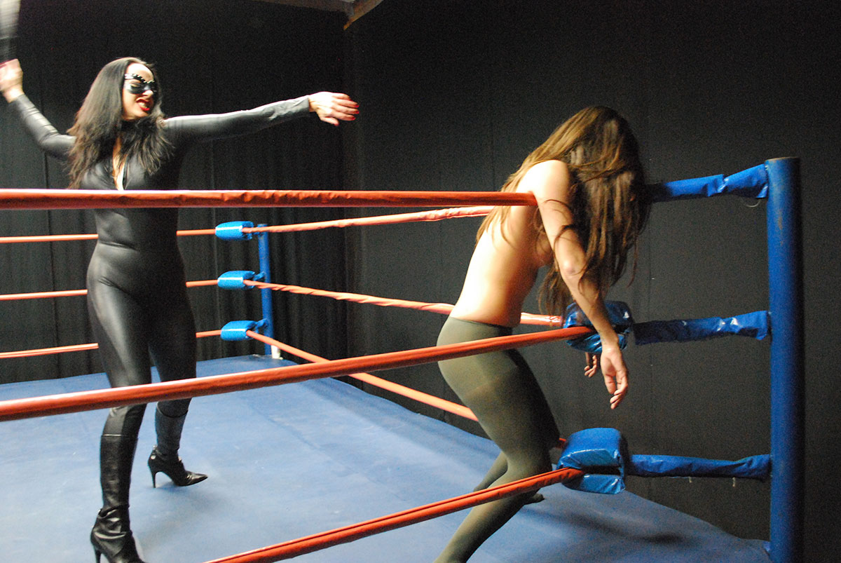 Boxing wrestling catfights retro 2