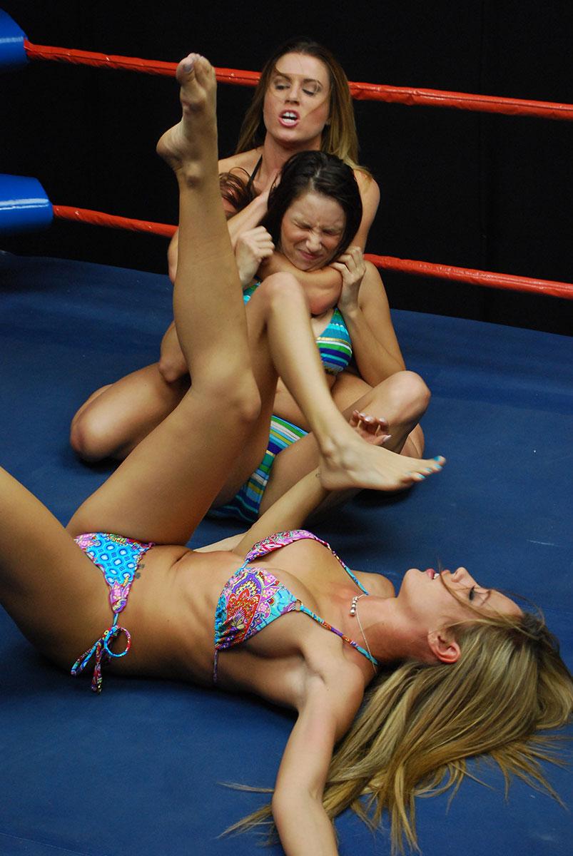 Bikini wrestling