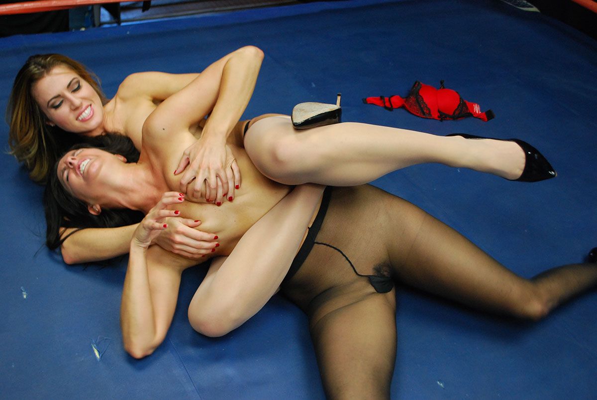 Female Wrestling - Catfights - Topless Boxing - Nude Wrestling-8591