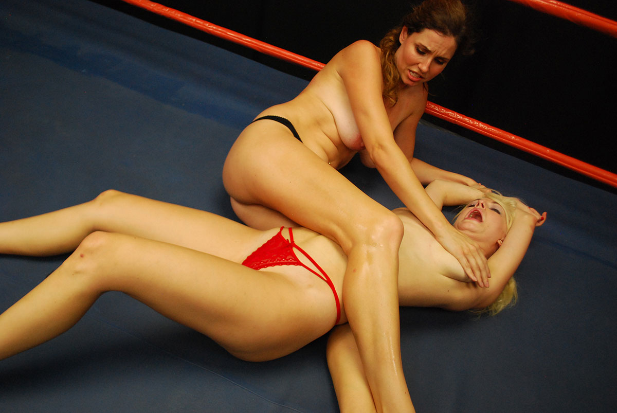 Topless Female Wrestling Match