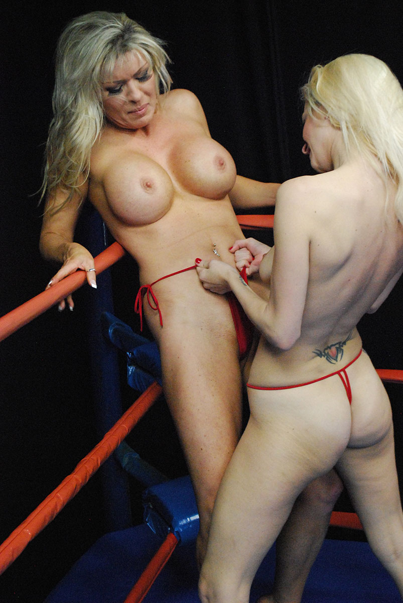 Female Wrestling - Catfights - Topless Boxing - Nude Wrestling-6421