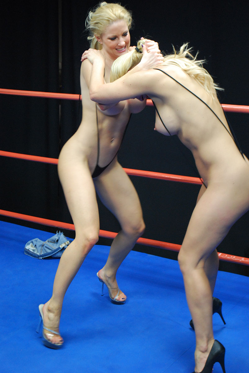 Female Wrestling - Catfights - Topless Boxing - Nude Wrestling-9779