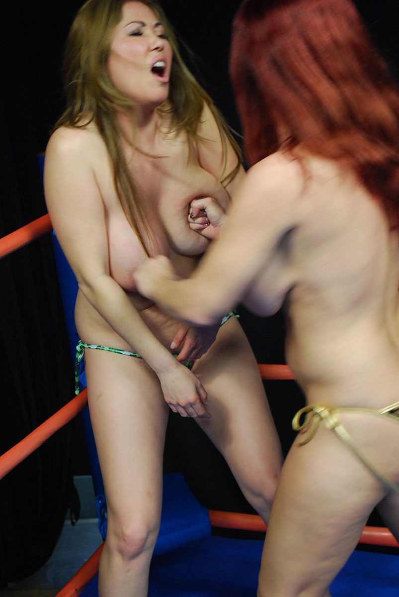 Big tit boxing match 2