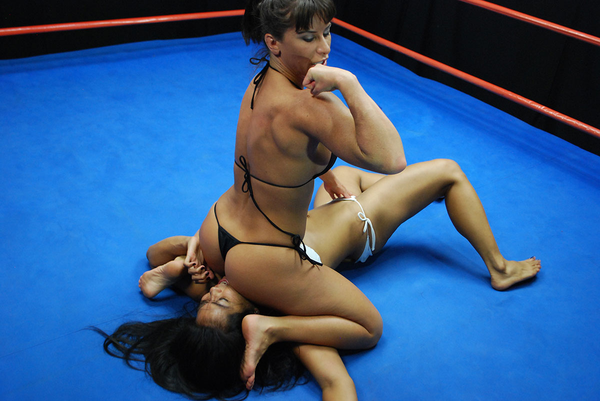 nude or to less mixed wrestling