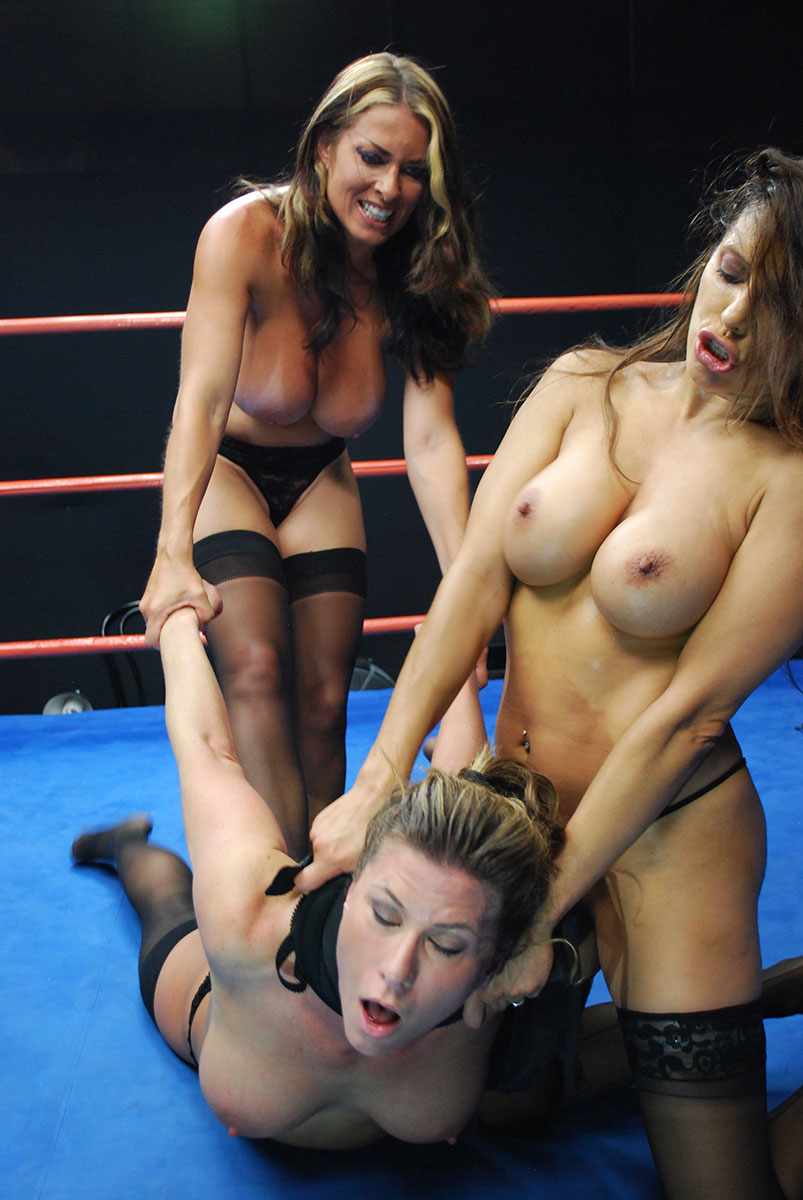Female Wrestling - Catfights - Topless Boxing - Nude Wrestling-7862