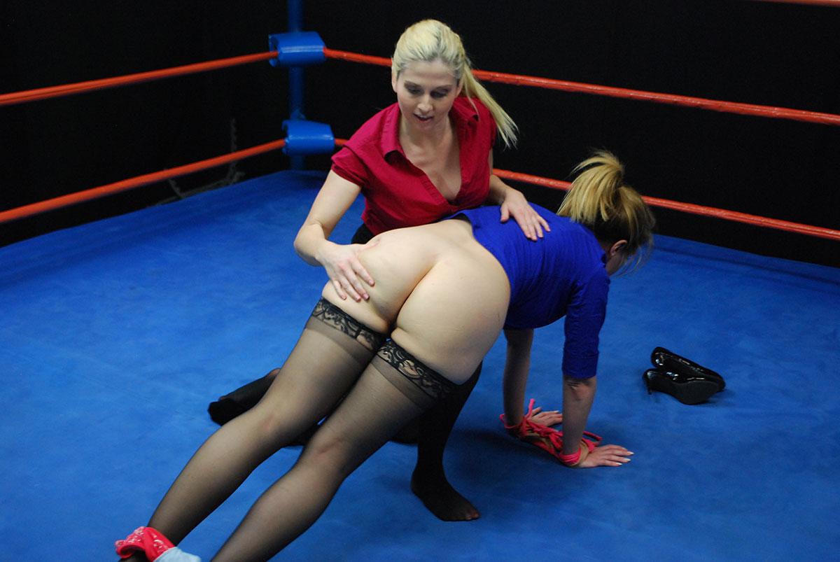 Party Die topless ladies wrestling catfighting takes his