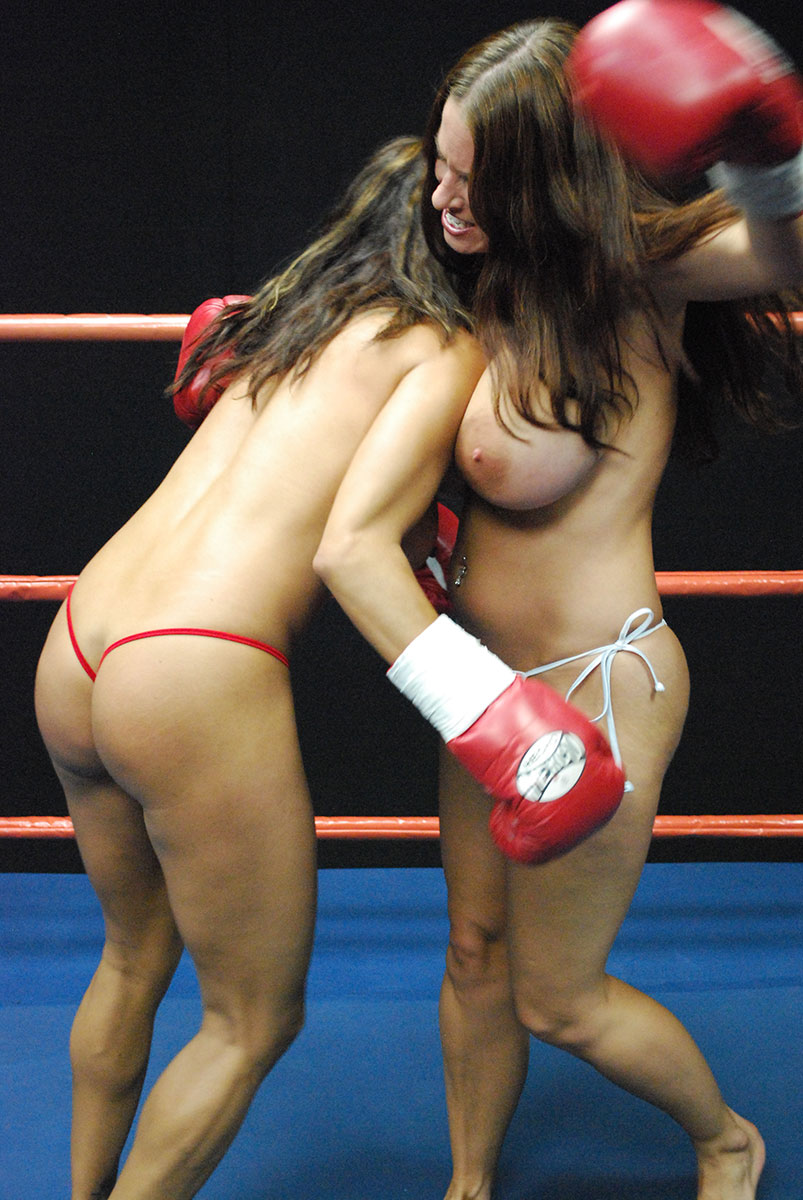 Topless female boxing pictures funny — photo 13