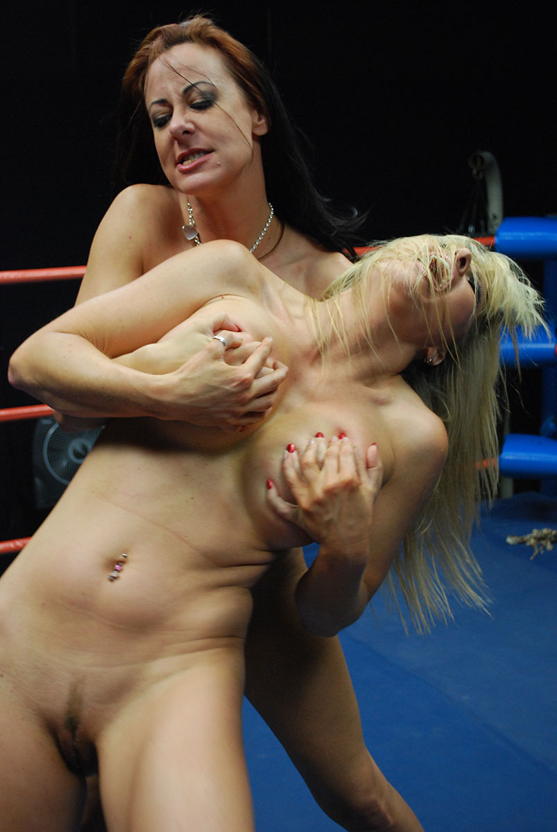 match topless pantyhose catfight featuring cali logan