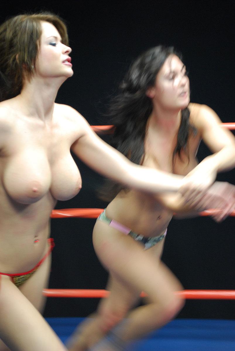Hot naked girls fighting gif