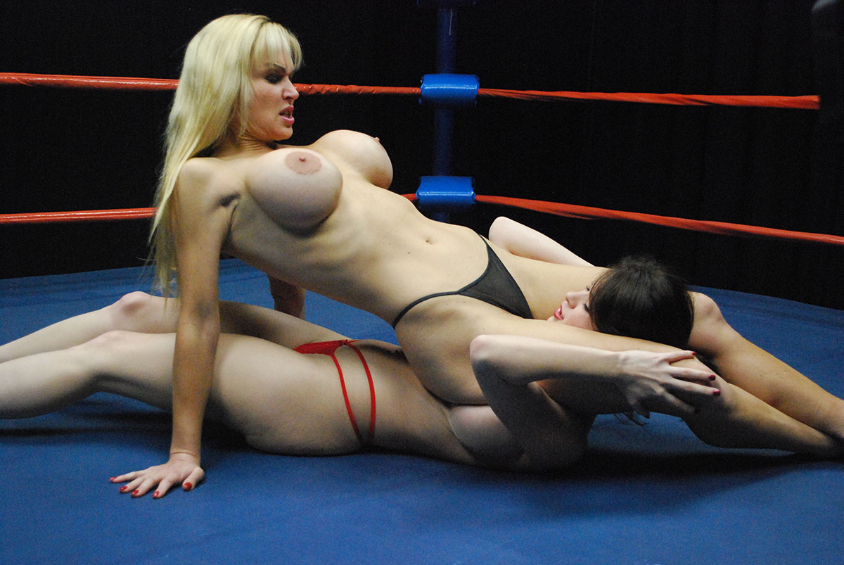 Topless Female Wrestling Catfight Tanya Danielle 14