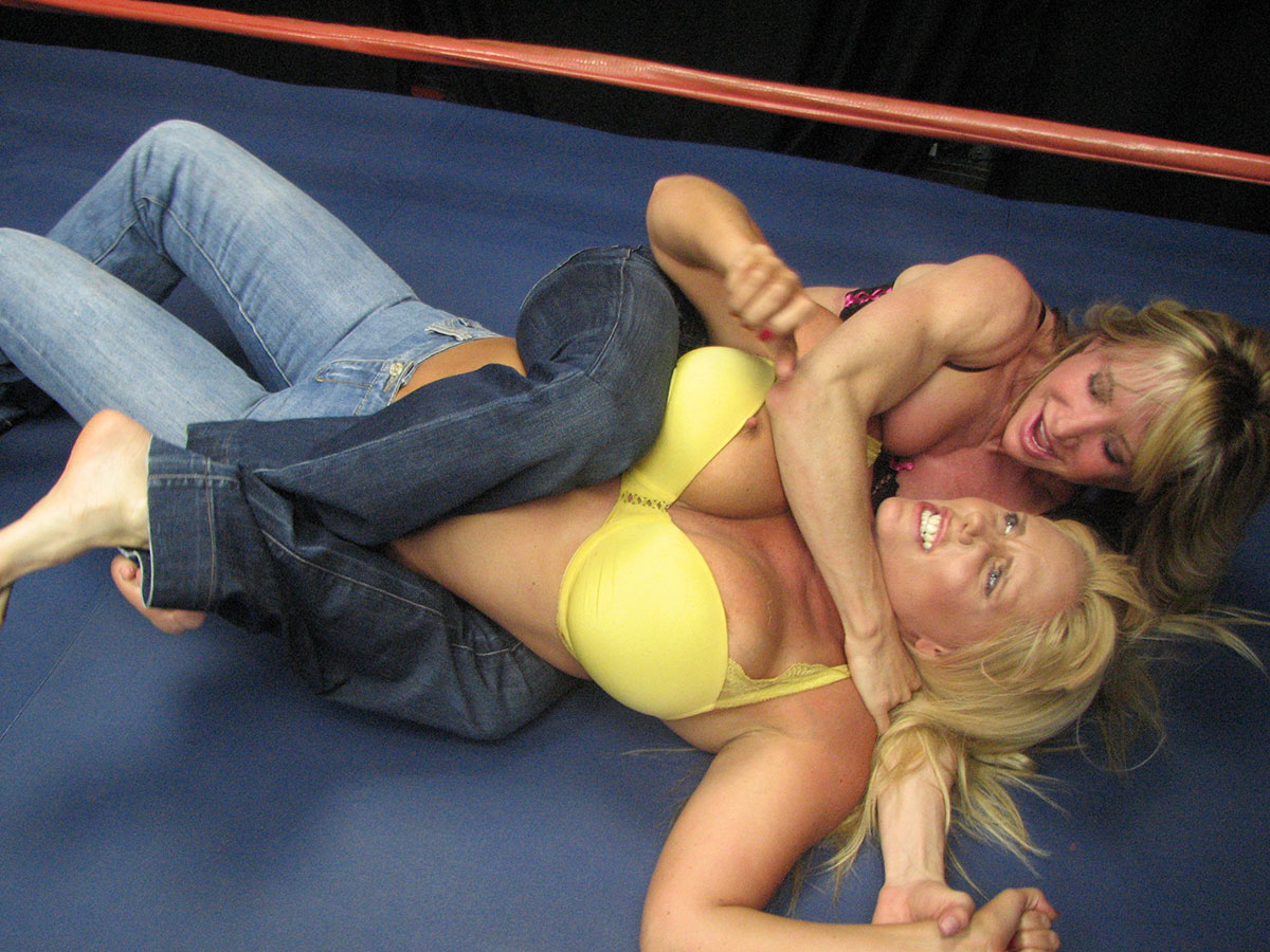 Dt Match Topless Female Wrestling Featuring Tanya Danielle