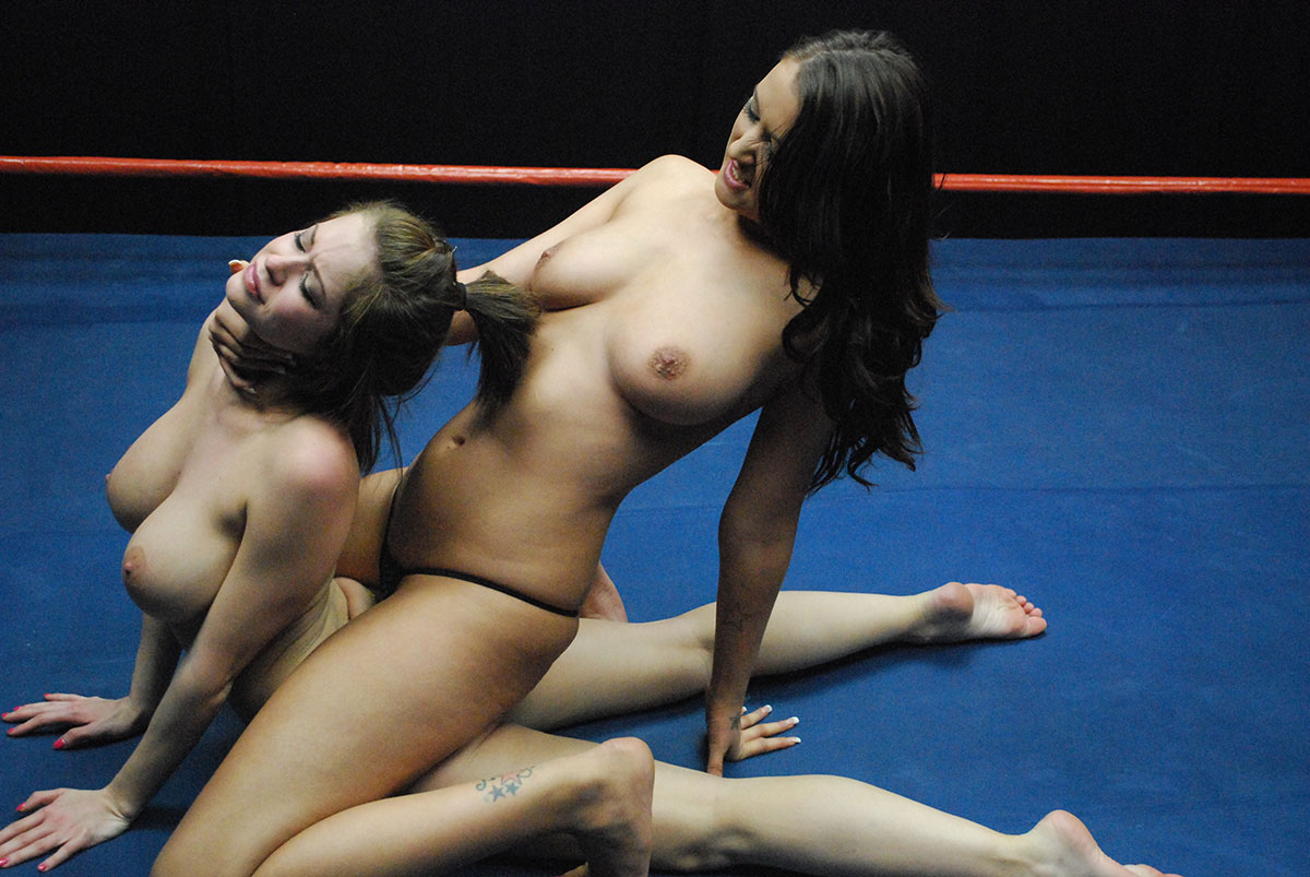 Black Nude Wrestling