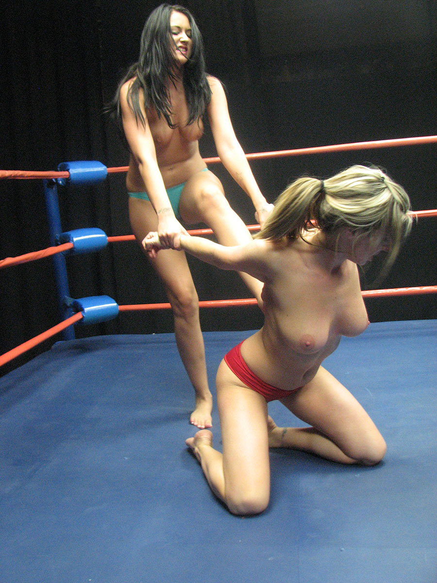 Topless Female Wrestling Catfight Tanya Danielle 99