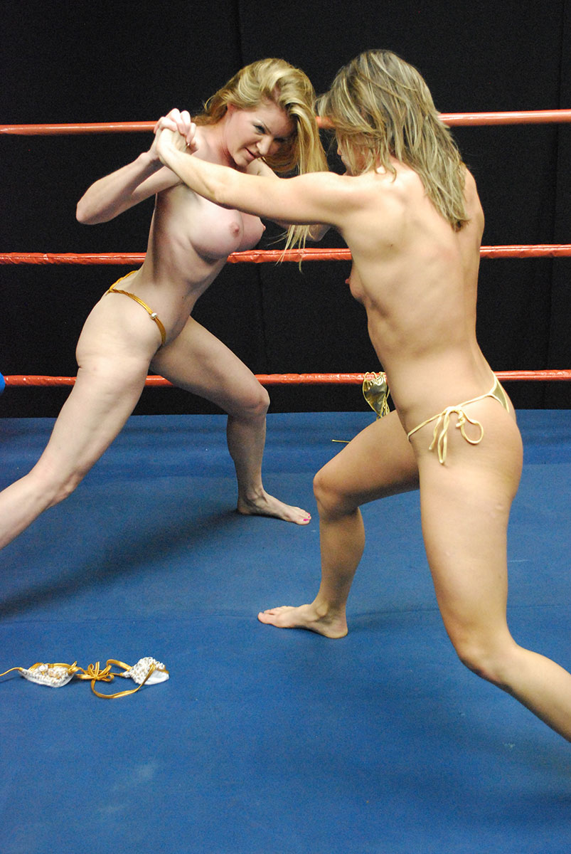 Female Wrestling - Catfights - Topless Boxing - Nude Wrestling-7679