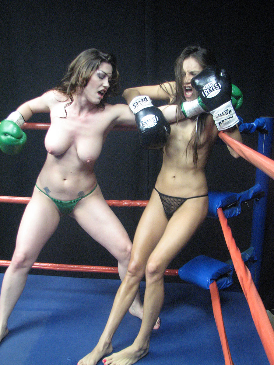 Girls fighting topless in shorts valuable
