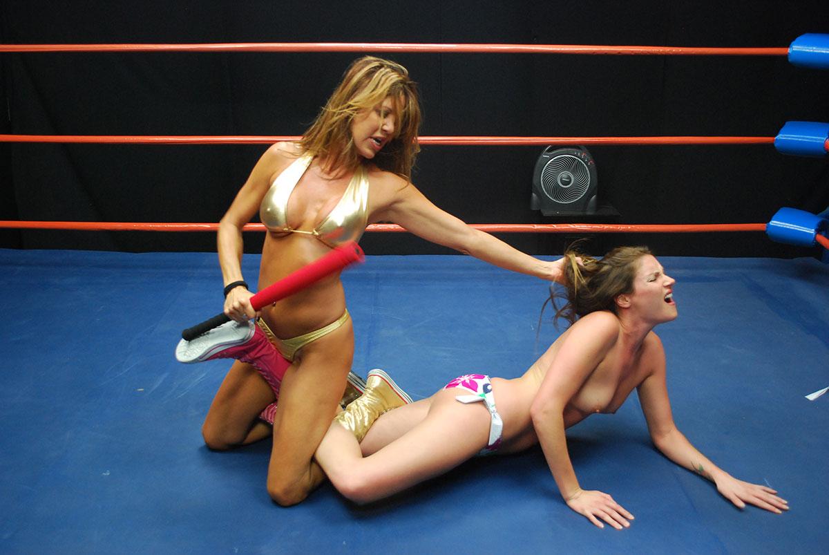 match 1   pro style catfight featuring dia zerva vs kristie etzold