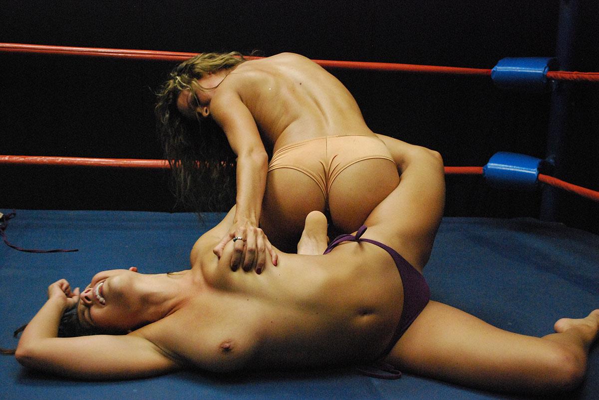 male vs female nude wrestling