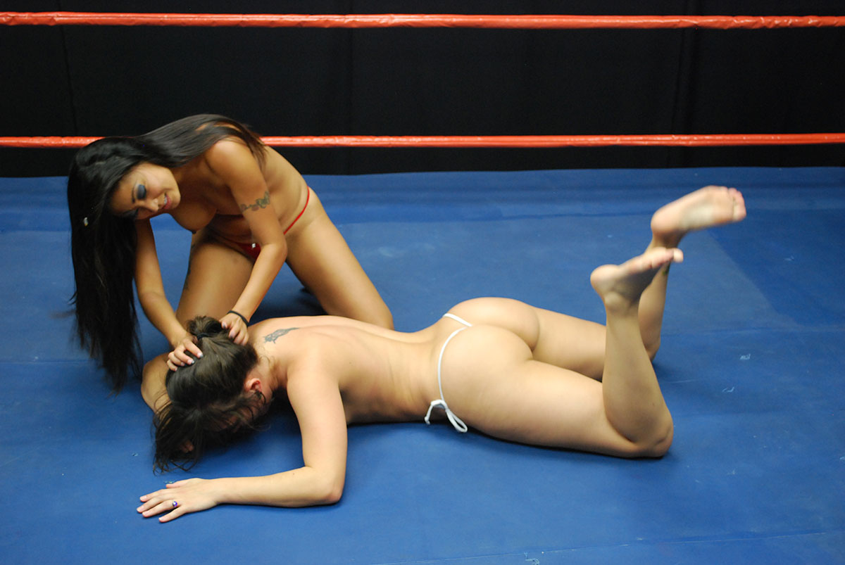 Dt Match Topless Female Wrestling Featuring Sinn Sage Vs