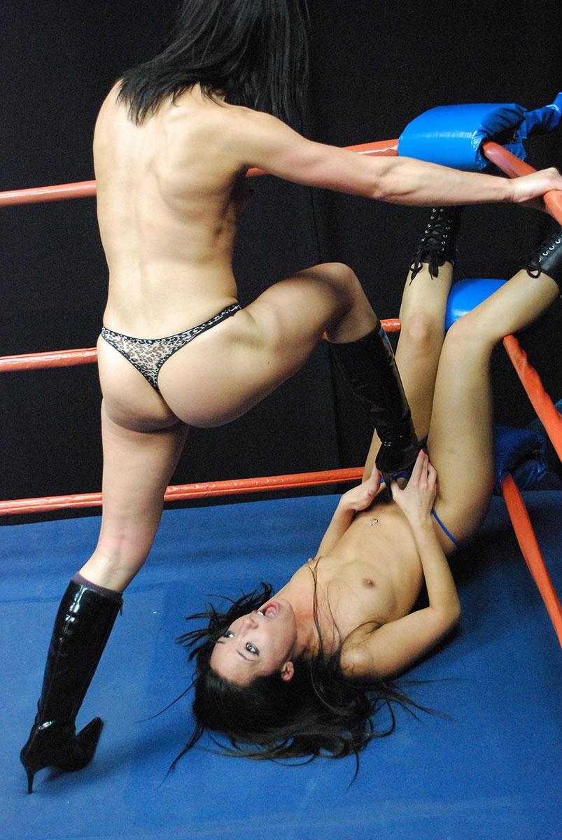 Brutal catfight porn