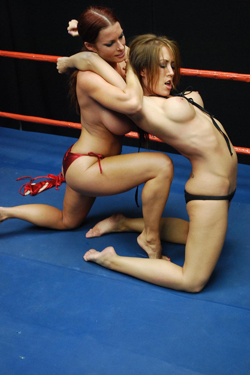 Women topless wrestling