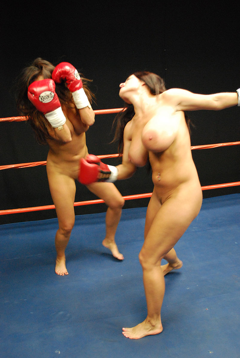 Rather Nude girls women boxing topless excellent