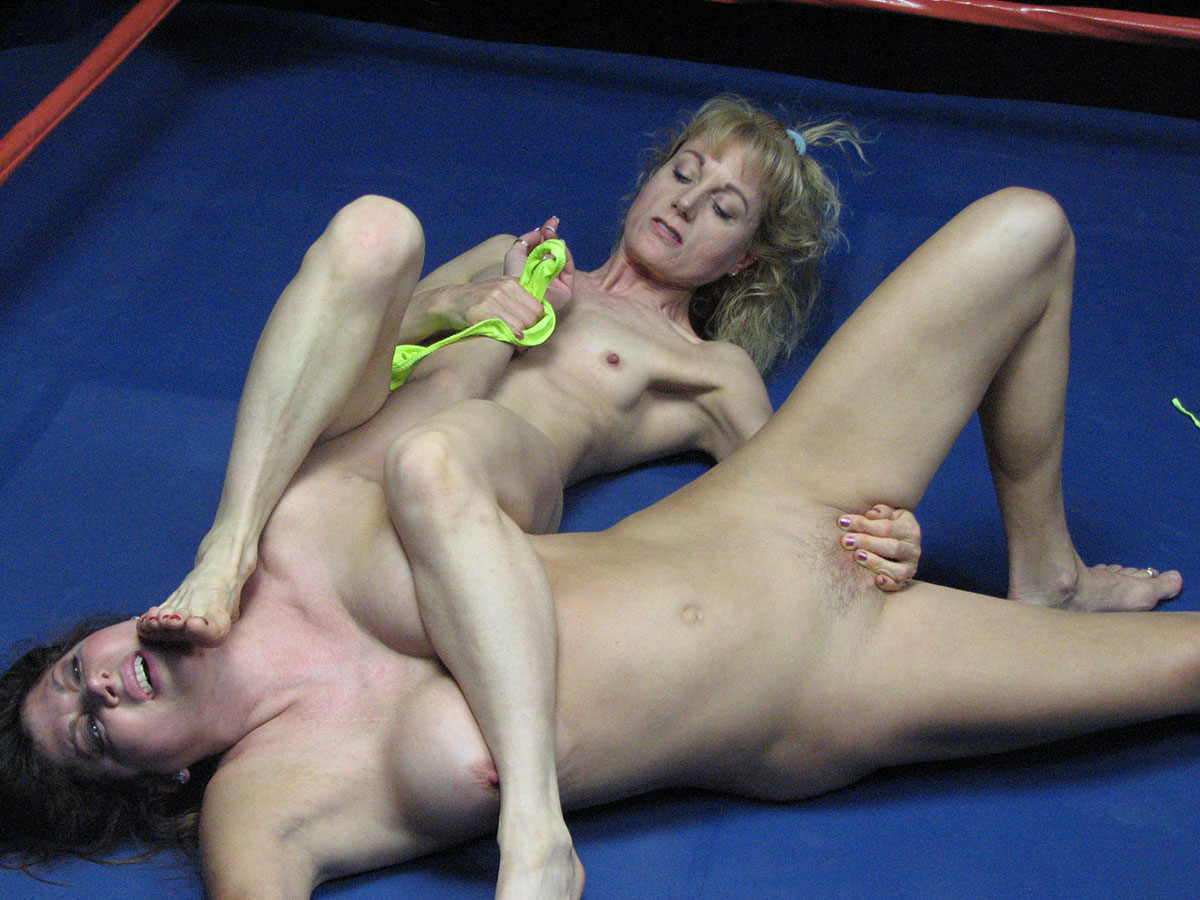 Sexual domination wrestling
