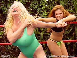 pro style wrestling