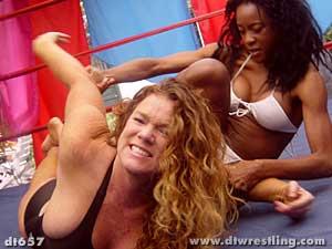superheroine wrestling