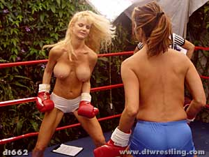 superheroine wrestling