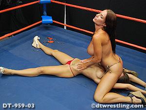 Topless Female Wrestling